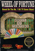 Wheel of Fortune NES Front Cover