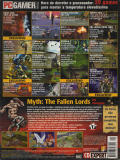Myth: The Fallen Lords Windows Back Cover