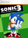 Sonic the Hedgehog 3 Xbox 360 Front Cover