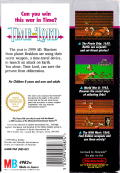 Time Lord NES Back Cover