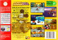 Mickey's Speedway USA  Nintendo 64 Back Cover