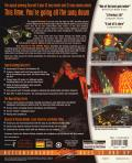 Descent II: The Infinite Abyss DOS Back Cover