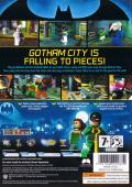 LEGO Batman: The Videogame Windows Back Cover