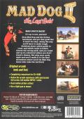 Mad Dog II: The Lost Gold Windows Back Cover