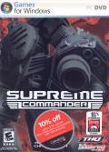 Supreme Commander Windows Front Cover