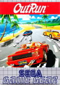 OutRun Game Gear Front Cover