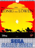 The Lion King Game Gear Front Cover