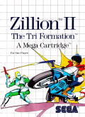 Zillion 2: Tri Formation SEGA Master System Front Cover