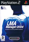 LMA Manager 2004 PlayStation 2 Front Cover
