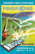 Ping Pong ZX Spectrum Front Cover