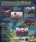 Microsoft Combat Flight Simulator: WWII Europe Series Windows Back Cover