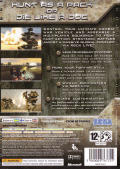 Chromehounds Xbox 360 Back Cover