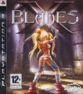 X-Blades PlayStation 3 Front Cover