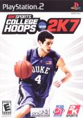 College Hoops NCAA 2K7 PlayStation 2 Front Cover