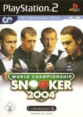 World Championship Snooker 2004 PlayStation 2 Front Cover