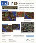 SimCity Classic Graphics DOS Back Cover