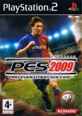 PES 2009: Pro Evolution Soccer PlayStation 2 Front Cover