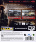 Terminator: Salvation PlayStation 3 Back Cover