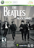 The Beatles: Rock Band Xbox 360 Front Cover