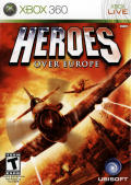 Heroes Over Europe Xbox 360 Front Cover