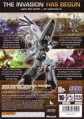 Universe at War: Earth Assault Xbox 360 Back Cover
