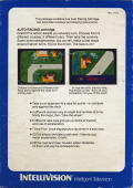 Auto Racing Intellivision Back Cover