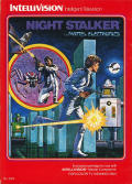 Night Stalker Intellivision Front Cover