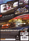 Juiced 2: Hot Import Nights Xbox 360 Back Cover