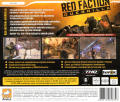 Red Faction: Guerrilla Windows Back Cover