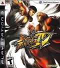 Street Fighter IV PlayStation 3 Front Cover