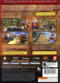 Sid Meier's Civilization IV: The Complete Edition Windows Back Cover