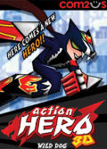 Action Hero 3D: Wild Dog Zeebo Front Cover