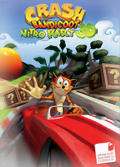 Crash Bandicoot Nitro Kart 3D Zeebo Front Cover