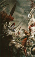 God of War: Chains of Olympus PSP Inside Cover Left