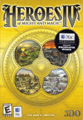 Heroes of Might and Magic IV Macintosh Front Cover