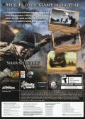 Call of Duty 2 Windows Other Keep Case - Back