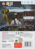 Metroid Prime Trilogy Wii Back Cover