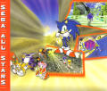 Sonic Adventure Dreamcast Inside Cover