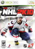 NHL 2K10 Xbox 360 Front Cover