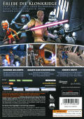 Star Wars: The Clone Wars - Republic Heroes Windows Back Cover