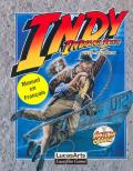 Indiana Jones and The Fate of Atlantis: The Action Game Amstrad CPC Front Cover