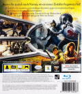The Chronicles of Narnia: Prince Caspian PlayStation 3 Back Cover