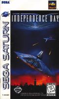 Independence Day SEGA Saturn Front Cover