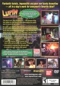 Lupin the 3rd: Treasure of the Sorcerer King PlayStation 2 Back Cover