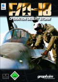 F/A-18 Operation Desert Storm Macintosh Front Cover