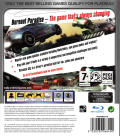 Burnout Paradise PlayStation 3 Back Cover
