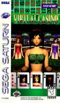 Virtual Casino SEGA Saturn Front Cover