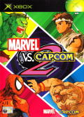 Marvel vs. Capcom 2 Xbox Front Cover