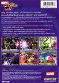 Marvel vs. Capcom 2 Xbox Back Cover