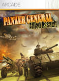 Panzer General: Allied Assault Xbox 360 Front Cover